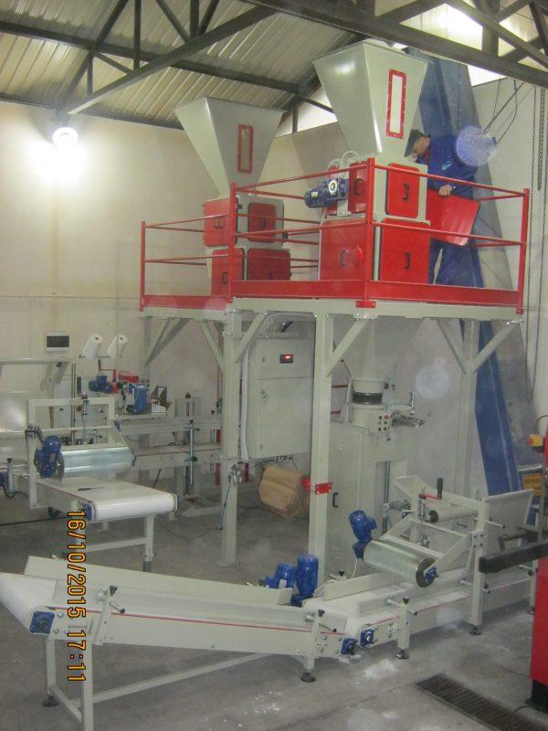 Sistem za pakovanje u ventil vreće – Mono Neto 25-50